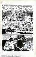Original Comic Art:Complete Story, Unknown Artist - Original Art for Chamber of Chills #12, Complete 5-page Story (Harvey, 1953). We know that the air and sea ...