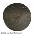 1652 SHILNG Pine Tree Shilling, Large Planchet AU53 PCGS. 70.5 grains. Noe-5, R.4. This variety is most easily attribute...