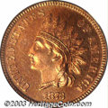 Proof Indian Cents: , 1873 1C Closed 3 PR65 Red PCGS. Since they were struck ...