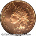 Proof Indian Cents: , 1878 1C PR66 Red PCGS. We are pleased to be offering ...