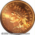 Proof Indian Cents: , 1882 1C PR66 Red PCGS. As a high mintage (3,100 pieces) ...