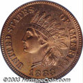 Proof Indian Cents: , 1883 1C PR65 Red PCGS. Along with the 1886 and 1888, the ...