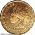 Proof Indian Cents: , 1877 1C PR66 Red PCGS. While more available than dates in ...