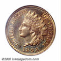 Proof Indian Cents: , 1893 1C PR66 Red PCGS. Ron Sirna (2002) notes that, while ...