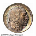 Proof Buffalo Nickels: , 1916 5C PR64 NGC. This issue's limited original mintage ...