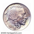 Proof Buffalo Nickels: , 1936 5C Type One--Satin Finish PR66 NGC. Some of the 4,...