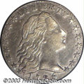Early Half Dimes: , 1795 H10C XF40 PCGS. V-4, LM-10, R.3. With overall bold ...