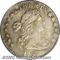 Early Half Dimes: , 1797 H10C 13 Stars XF40 PCGS. V-4, LM-4, R.6. A very ...