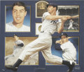 Autographs:Others, Joe DiMaggio Signed Lithograph. Photographic realism is the favoredstyle of artist Danny Day, who masterfully captures the...