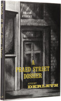Books:First Editions, August Derleth: A Praed Street Dossier. (Sauk City: Mycroft & Moran, 1968), first edition, 108 pages, black cloth with g...
