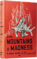 Books:First Editions, H. P. Lovecraft: At the Mountains of Madness and OtherNovels. Selected and with an introduction by August Derleth.(Sau...