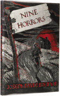 Books:First Editions, Joseph Payne Brennan: Nine Horrors and a Dream. (SaukCity: Arkham House, 1958), first edition, 120 pages, dust jack...