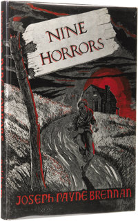 Joseph Payne Brennan: Nine Horrors and a Dream. (Sauk City: Arkham House, 1958), first edition, 120 pages, dust jack