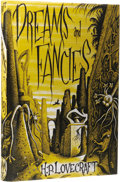 Books:First Editions, H. P. Lovecraft: Dreams and Fancies. (Sauk City: ArkhamHouse, 1962), first edition, 174 pages, dust jacket by Richard T...