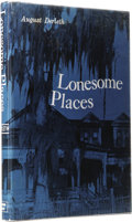 Books:First Editions, August Derleth: Lonesome Places. (Sauk City: Arkham House,1962), first edition, 198 pages, black cloth with gilt letter...