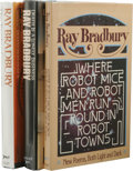 Books:First Editions, Ray Bradbury: Three 1970s & 1980s Knopf First Editions,including:. The Toynbee Convector. (New York: Alfred A.Knop... (Total: 3 )