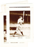 "Baseball Collectibles:Photos, 1940's-50's ""Baseball Magazine"" Premium Photographs Lot of 56. Thework of such legendary lensmen as Charles Conlon and the..."