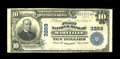 National Bank Notes:Missouri, Maryville, MO - $10 1902 Plain Back Fr. 624 The First NB Ch. #3268. The last time we auctioned off a large note on this...