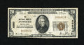 National Bank Notes:Pennsylvania, Avondale, PA - $20 1929 Ty. 1 The NB of Avondale Ch. # 4560. ...