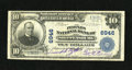 National Bank Notes:Pennsylvania, Shippensburg, PA - $10 1902 Plain Back Fr. 624 The Peoples NB Ch. # 6946. This note is one of a mere 9 large enumerated ...