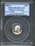 Proof Roosevelt Dimes: , 1988-S 10C PR70 Deep Cameo PCGS. The brilliant devices ...
