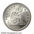 Seated Quarters: , 1888-S 25C MS66 NGC. Briggs 5-E. The popularity of this ...
