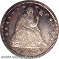 Proof Seated Quarters: , 1842 25C Small Date PR65 PCGS. The 1842 Small Date ...