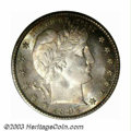 Barber Quarters: , 1897-S 25C MS65 PCGS. The 1897-S is the last year the ...