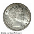 Barber Quarters: , 1901-O 25C MS64 PCGS. The 1901-O is very scarce in all ...