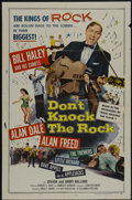 "Movie Posters:Rock and Roll, Don't Knock The Rock (Columbia, 1957). One Sheet (27"" X 41""). Rockand Roll...."