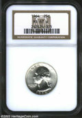 Washington Quarters: , 1964 25C MS67 W NGC. Brilliant and virtually flawless. ...