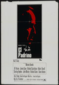 """Movie Posters:Crime, The Godfather (Paramount, 1972). Spanish One Sheet (27.5"""" X 40.5"""").Crime...."""