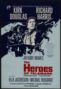 "Movie Posters:War, The Heroes of Telemark (Columbia, 1966). British One Sheet (27"" X40""). War...."