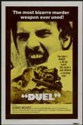 """Movie Posters:Action, Duel (Universal, 1972). One Sheet (27"""" X 41"""") Tri-Folded.Action...."""