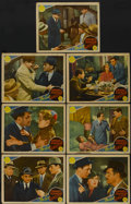"Movie Posters:Crime, The Last Gangster (MGM, 1937). Lobby Cards (7) (11"" X 14"").Crime.... (Total: 7 Items)"