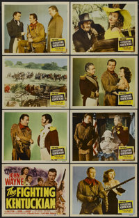 "The Fighting Kentuckian (Republic, 1949). Lobby Card Set of 8 (11"" X 14""). Western.... (Total: 8 Items)"