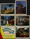 "Movie Posters:Adventure, Ivanhoe (MGM, 1952). Deluxe Title Lobby Card and Lobby Cards (5)(11"" X 14""). Adventure.... (Total: 6 Items)"