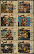"Movie Posters:Comedy, Campus Confessions (Paramount, 1938). Lobby Card Set of 8 (11"" X14""). Comedy.... (Total: 8 Items)"