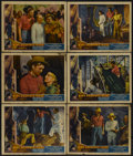 "Movie Posters:Adventure, King Solomon's Mines (Gaumont, 1937). Lobby Cards (6) (11"" X 14"").Adventure.... (Total: 6 Items)"