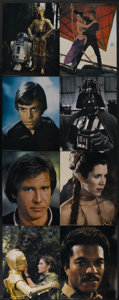 """Movie Posters:Science Fiction, Return of the Jedi (20th Century Fox, 1983). Jumbo Deluxe LobbyCard Set of 11 (16"""" X 20""""). Science Fiction.... (Total: 11 Items)"""