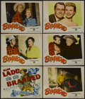 """Movie Posters:Western, Branded (Paramount, 1951). Title Lobby Card and and Lobby Cards (5)(11"""" X 14""""). Western.... (Total: 6 Items)"""