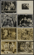 "Movie Posters:Adventure, Tarzan Triumphs (RKO, 1943). Stills (8) (8"" X 10""). Adventure....(Total: 8 Items)"
