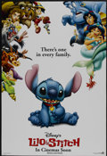 "Movie Posters:Animated, Lilo & Stitch (Buena Vista, 2002). One Sheet (27"" X 40"") DS Advance. Animated...."