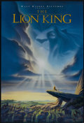"Movie Posters:Animated, The Lion King (Buena Vista, 1994). One Sheet (27"" X 41"") DSAdvance. Animated...."