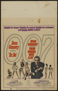 "Movie Posters:James Bond, Dr. No/From Russia with Love Combo (United Artists, R-1965). Window Card (14"" X 22""). James Bond...."