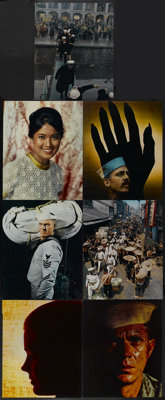 """The Sand Pebbles (20th Century Fox, 1966). Jumbo Deluxe Lobby Card Set of 16 (16"""" X 20""""). War.... (Total: 16 I..."""