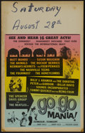 "Movie Posters:Rock and Roll, Go Go Mania (American International, 1965). Window Card (14"" X22""). Rock and Roll...."