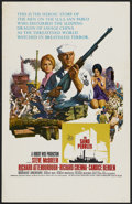 "Movie Posters:War, The Sand Pebbles (20th Century Fox, 1966). Window Card (14"" X 22"").War...."