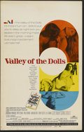 "Movie Posters:Cult Classic, Valley of the Dolls (20th Century Fox, 1967). Window Card (14"" X22""). Cult Classic...."