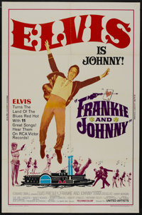 "Frankie and Johnny (United Artists, 1966). One Sheet (27"" X 41""). Elvis Presley"